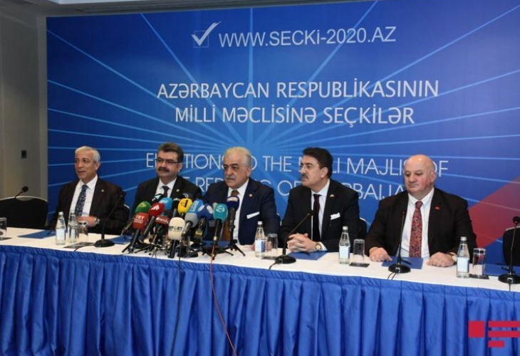 "Observation Mission of Turkey's Grand National Assembly: ""Elections show Azerbaijan is open and transparent"""